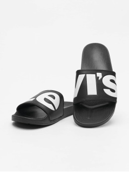 Levi's® Slipper/Sandaal June L zwart