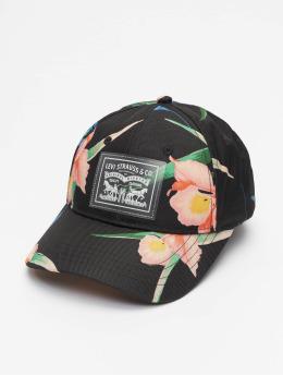 Levi's® Snapback Floral Clear 2 Horse Patch èierna