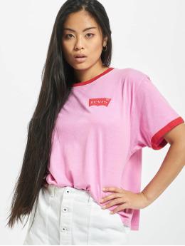 Levi's® T-Shirt Graphic Ringer magenta
