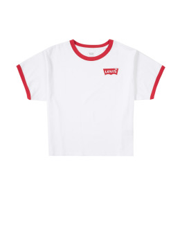 Levi's® T-Shirt Graphic Ringer weiß