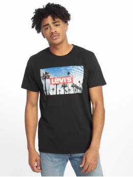 Levi's® t-shirt Graphic Set In Neck zwart