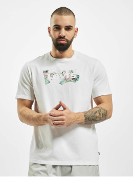 Levi's® T-Shirty Housemark Graphic bialy