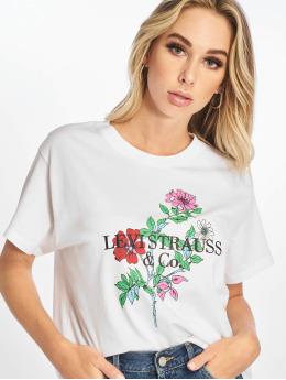 Levi's® Tričká Graphic Varsity biela