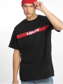 Levi's® Trika Oversized Graphic čern