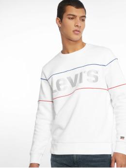 Levi's® trui Reflective Crew Logo wit