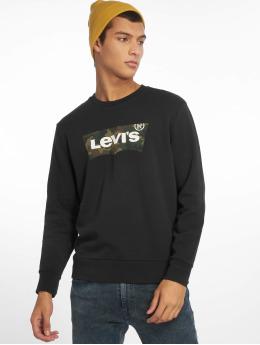 Levi's® trui Graphic Crew Fill zwart
