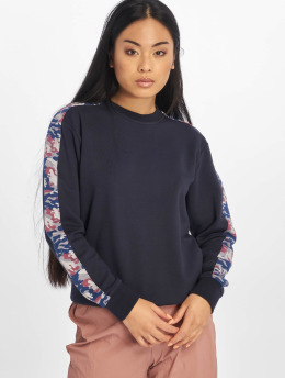 Lifted Pullover Nora blau