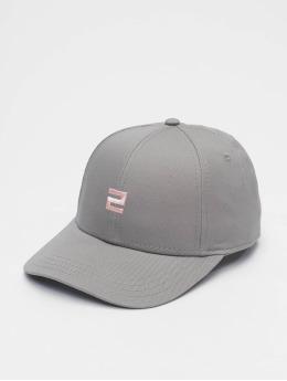 Lifted snapback cap Elin blauw