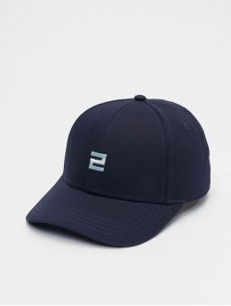 Lifted Snapback Cap Elin blu