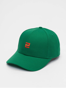 Lifted Snapback Cap Elin verde