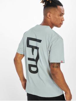 Lifted t-shirt Leach grijs