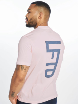 Lifted T-shirt Leach rosa chiaro