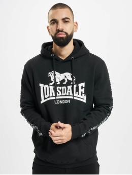 Lonsdale London Hoodie Yapton svart