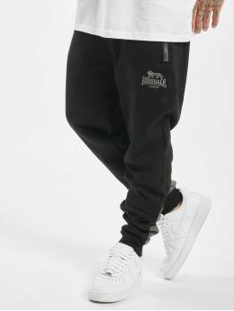Lonsdale London Jogging kalhoty Eversley čern