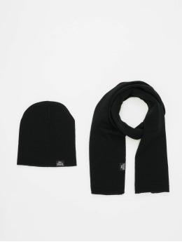 Lonsdale London sjaal Leafield zwart