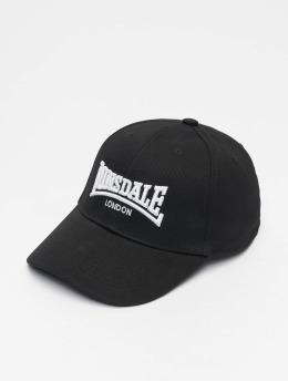 Lonsdale London snapback cap Wigston zwart
