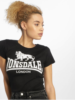 Lonsdale London T-Shirt Heather  black