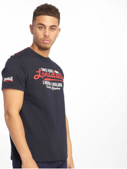 Lonsdale London t-shirt Raversdon  blauw