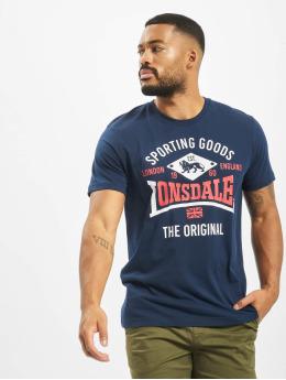 Lonsdale London t-shirt Empingham Regular Fit blauw