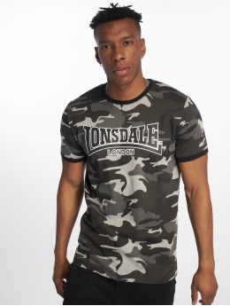 Lonsdale London t-shirt Cobbett grijs