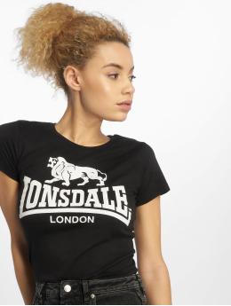 Lonsdale London t-shirt Heather zwart