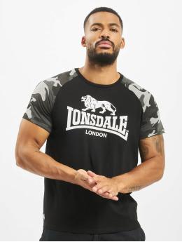 Lonsdale London t-shirt Kensington zwart