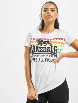 Lonsdale London T-skjorter Teresa hvit