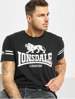 Lonsdale London T-skjorter Aldeburgh  svart