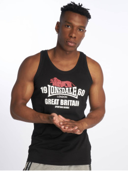 Lonsdale London Tank Tops Turnditch schwarz