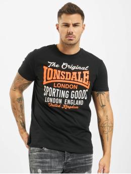 Lonsdale London Tričká Usborne  èierna