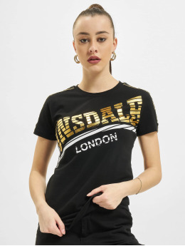 Lonsdale London Tričká Langrick  èierna