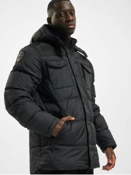 Lonsdale London Winterjacke  Darren   schwarz