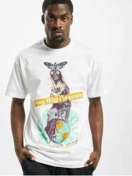 LRG T-shirt Stay High Forever bianco