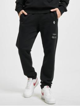 Marcelo Burlon Jogginghose Logo  schwarz