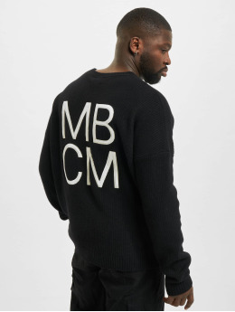 Marcelo Burlon Puserot MBCM Wool Regular Knit musta