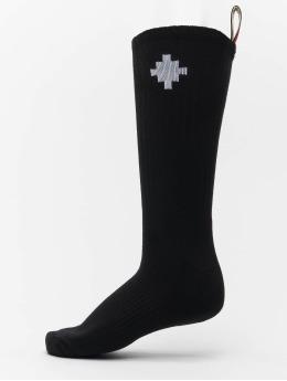 Marcelo Burlon Socken Cross Side Tape schwarz