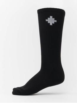 Marcelo Burlon Socks Cross Sideaway black