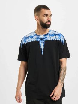 Marcelo Burlon T-skjorter Smoke Wings Regular svart