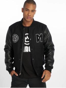 Maskulin College Jacke Subway Surfer schwarz
