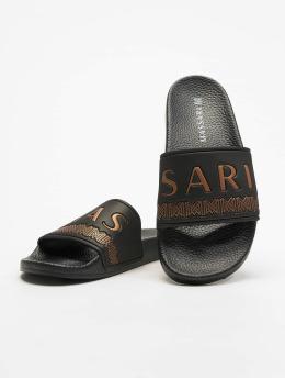 Massari Slipper/Sandaal  zwart
