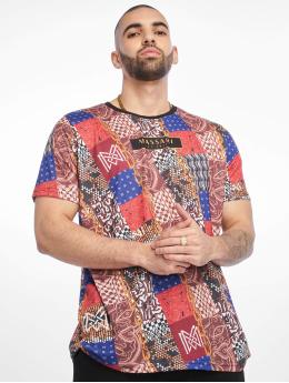 Massari T-shirts Bruh mangefarvet