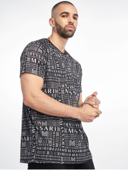 Massari T-Shirty Bru czarny