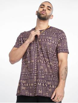 Massari T-Shirty Bru fioletowy