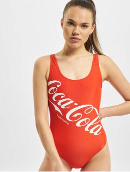 Merchcode Badedrakt Ladies Coca Cola Logo red
