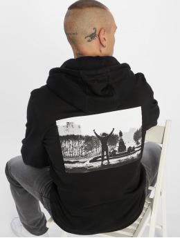Merchcode Bluzy z kapturem Rocky Victory czarny