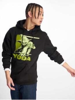 Merchcode Bluzy z kapturem Yoda  czarny