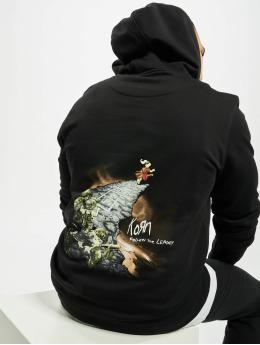 Merchcode Bluzy z kapturem Korn Follow The Leader  czarny
