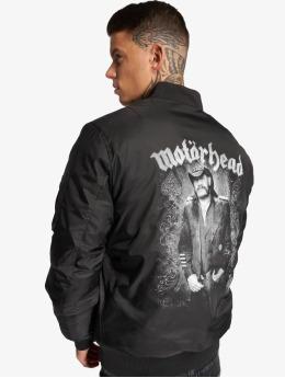Merchcode Bomberová bunda Motörhead Lemmy èierna