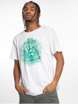 Merchcode Camiseta Buda blanco