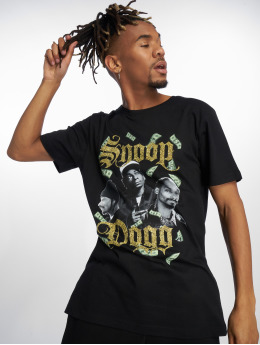 Merchcode Camiseta Snoop Dollar negro